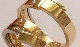 Golden, gold plated or gilt jewellery